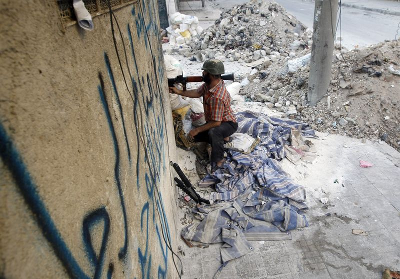 Assisting the victims of the Syrian conflict impartially - Aleppo, August 1st - Photo courtesy of Reuters/Goran Tomasevic