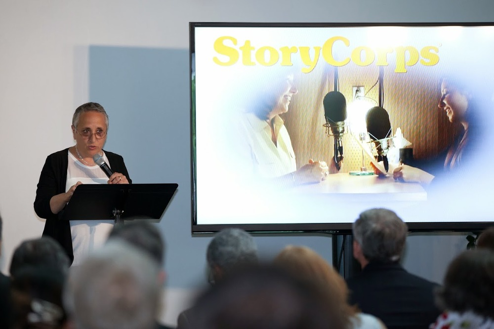 Donna Galeno, the Chief Program Officer at StoryCorps, came down to D.C. from New York to talk about the world's largest oral history project.