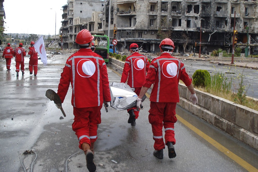 Anniversary Of The Adoption Of The Red Crescent Emblem Intercross