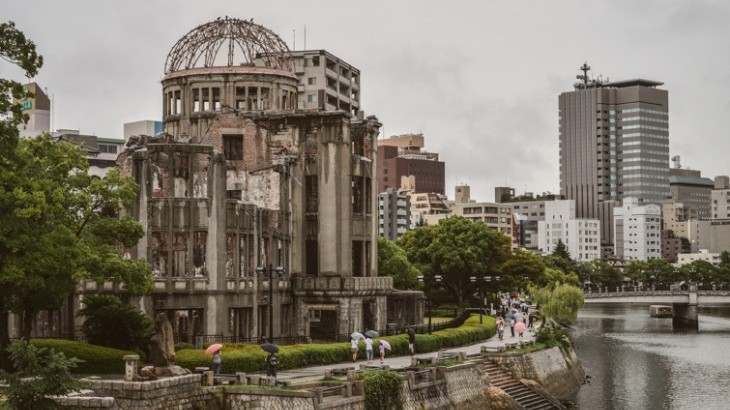 Atomic Bomb Dome - Hiroshima. Photograph: Trevor Dobson / Flickr