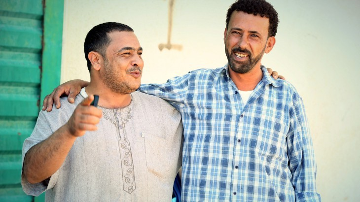 Misrata, Libya. Portrait of Fathi and Masaoud. ©ICRC