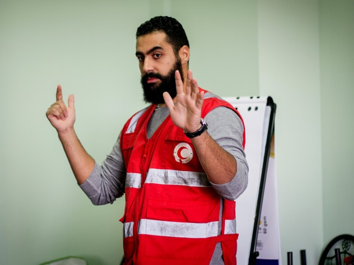 Libya. Portrait of Ahmed. ©ICRC