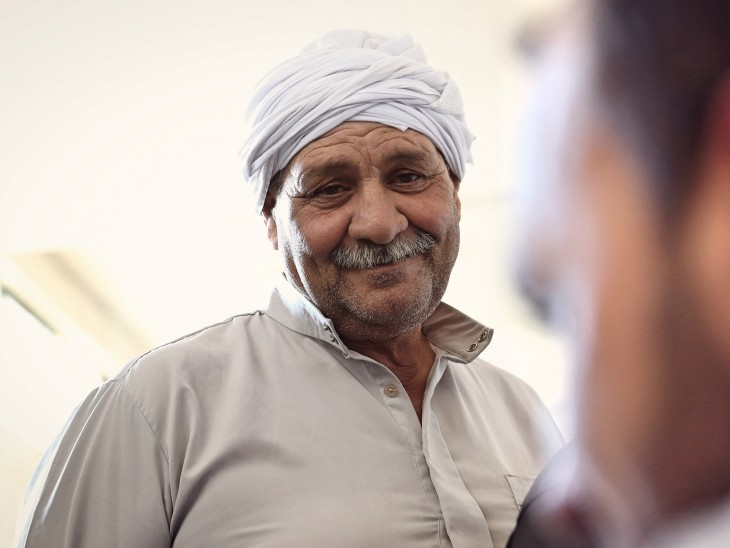 Misrata, Lybia. Portrait of Hajj-Ali Mohamed. ©ICRC