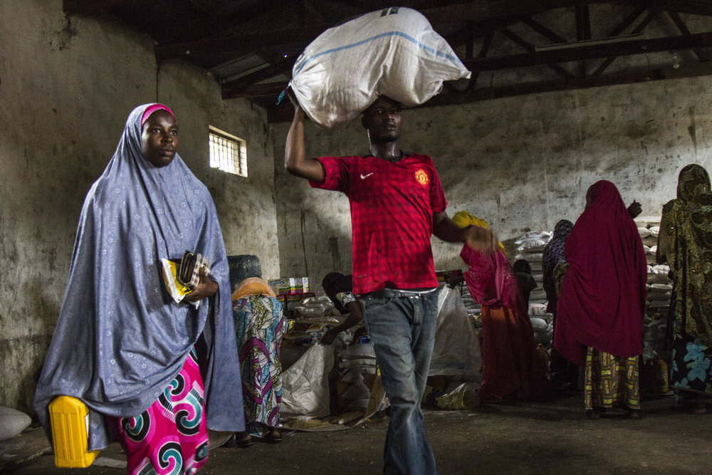 Nigeria. The ICRC, working with the Borno State Widows Association, has reached more than 1,300 widows to improve their access to food, reduce their debts, and find support in starting small businesses.