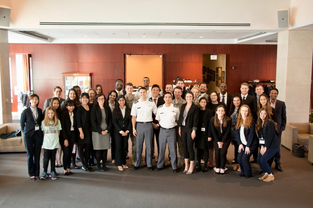 All teams and participants at the 4th Annual Clara Barton IHL Competition. Joe Gibson/American Red Cross