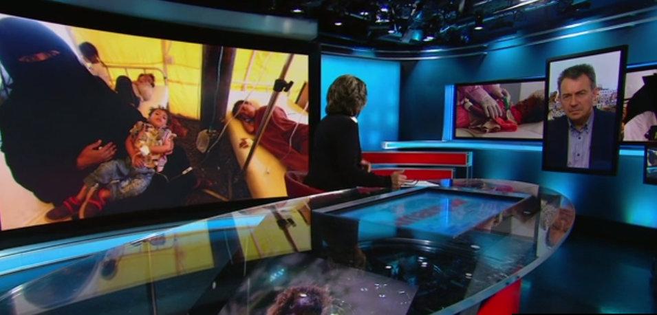 ICRC President Peter Maurer Speaks to CNN's Christiane Amanpour from Yemen.