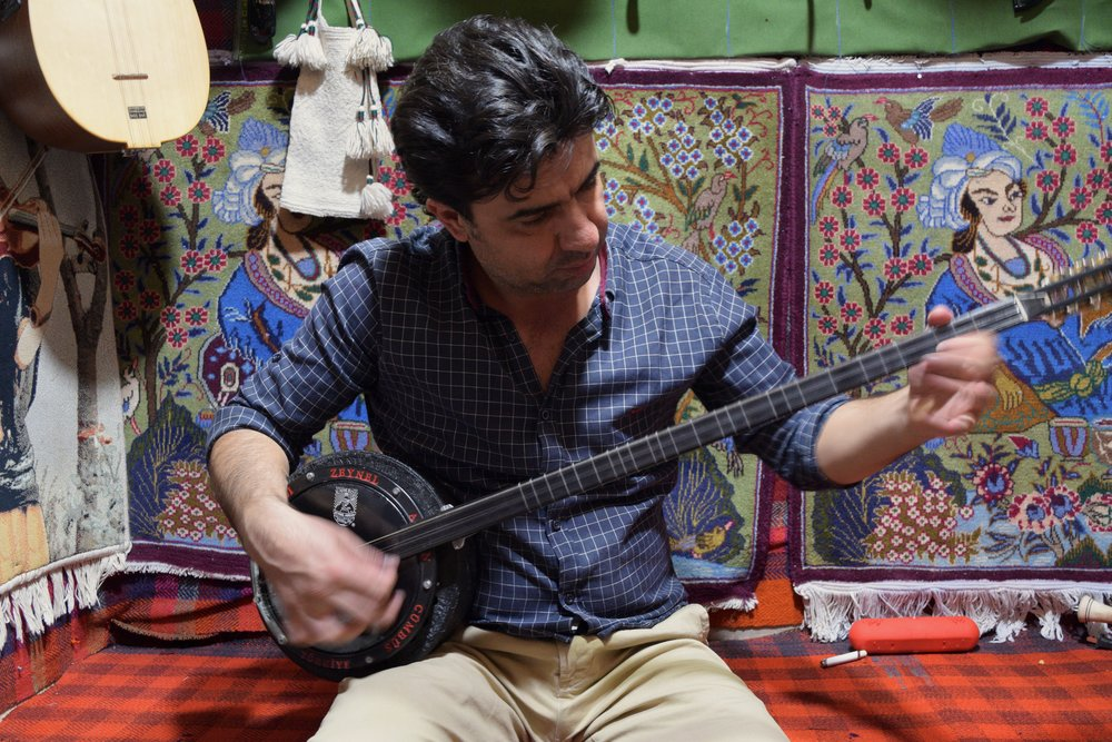 Selah is a Syrian musician now living in Irbil. To learn more about his story, go to musicinexile.org
