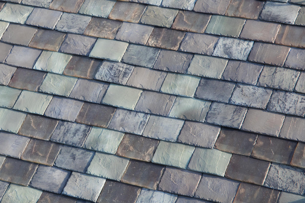 An example of Tesla's solar roof