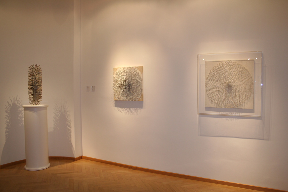 Günther Uecker, installation view