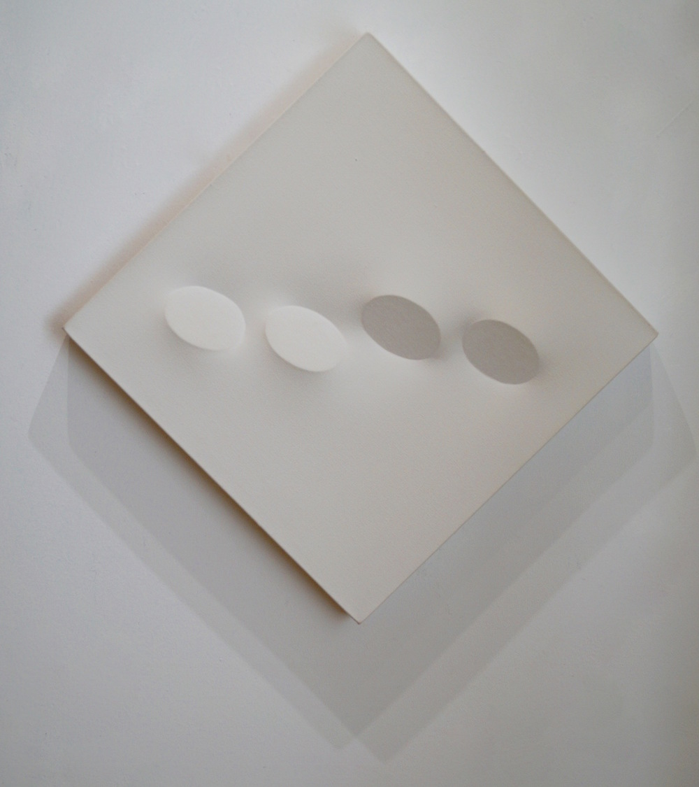 Turi Simeti Bianco, 1994 Acrylic on shaped canvas 50 x 50 cm | 19 2/3 x 19 2/3 in