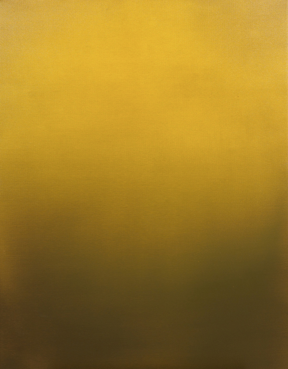 Magnus Thorén, Yellow fades, 2015, oil on canvas, 135 x 95 cm