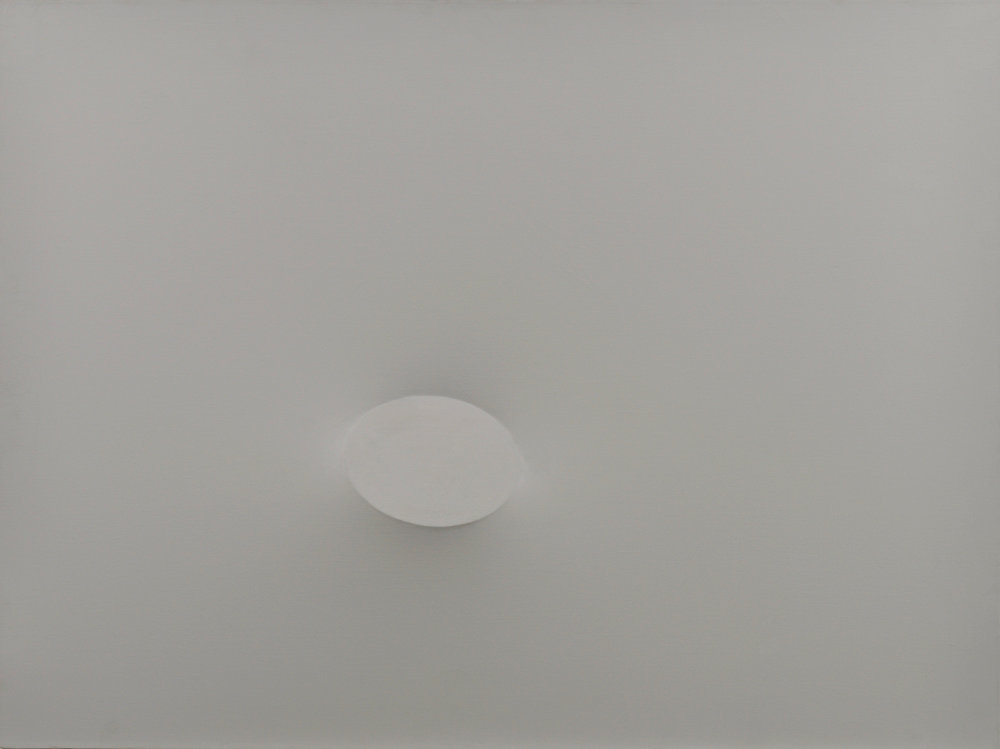 uri Simeti Grigio, 1978 acrylic on shaped canvas 97 x 130 cm | 38 1/4 x 51 1/4 in TSI/O 7