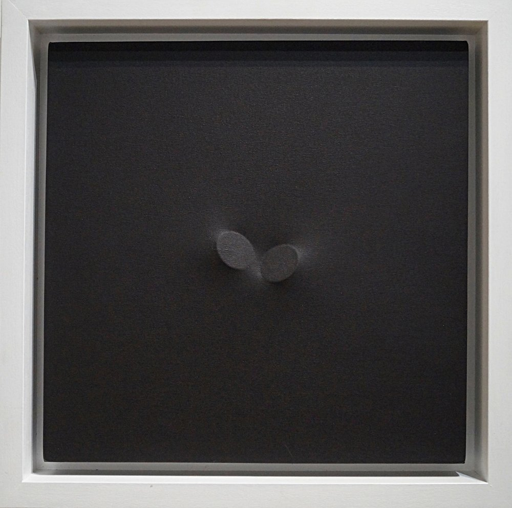 Turi Simeti Nero, 2011 Acrylic on shaped canvas 50 x 50 cm | 19 2/3 x 19 2/3 in