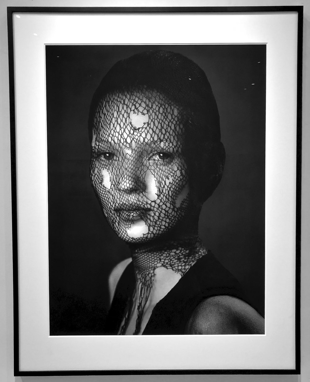 Albert Watson Kate Moss Torn Veil, 1993 Archival pigment photograph 106.68 x 142.24 cm | 42 x 56 in Edition of 10 AWA/F 1
