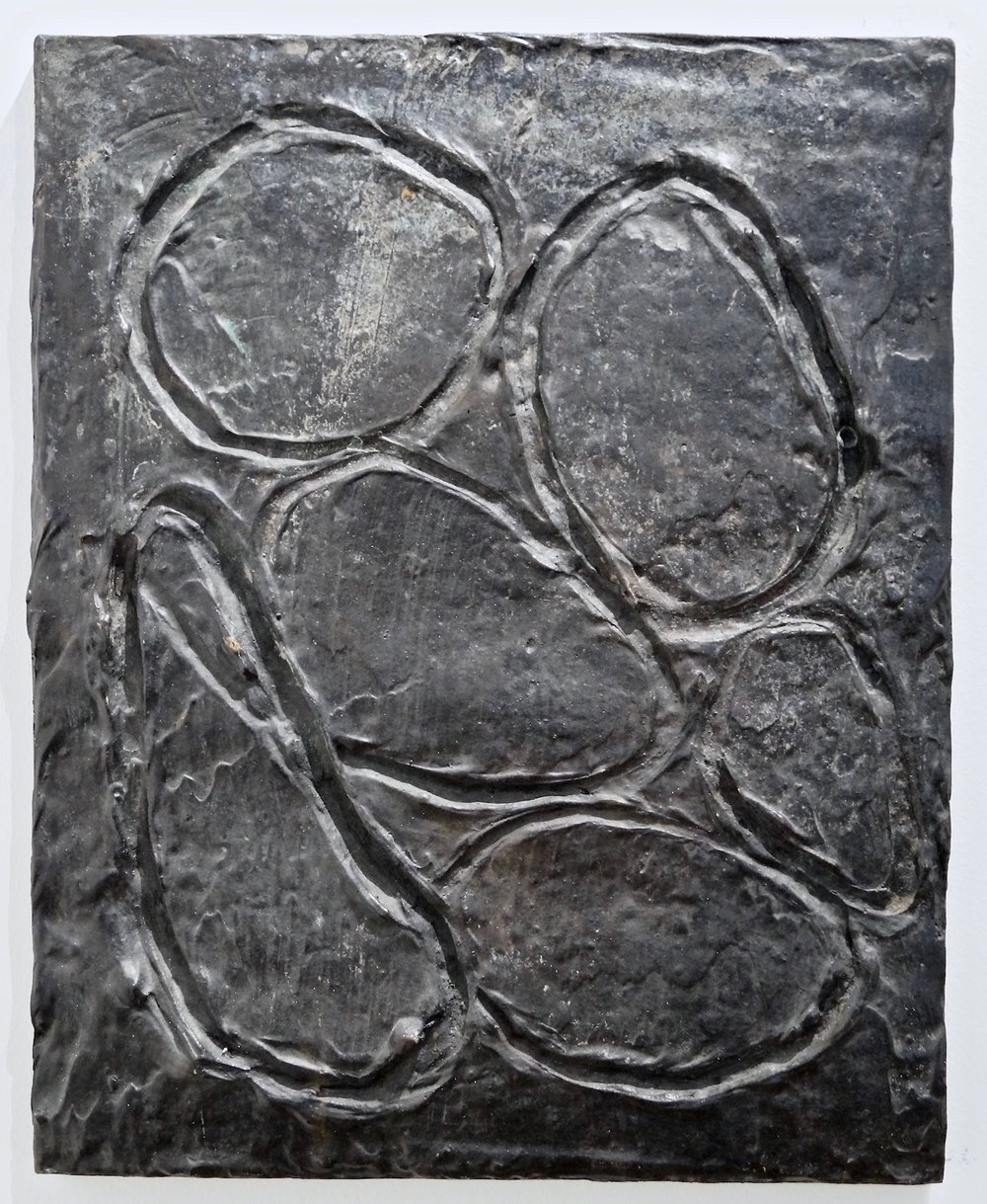 Günther Förg untitled, 1991 bronze 49 x 39 cm | 19 1/3 x 15 1/3 in Expl. 3/14 GF/O 2