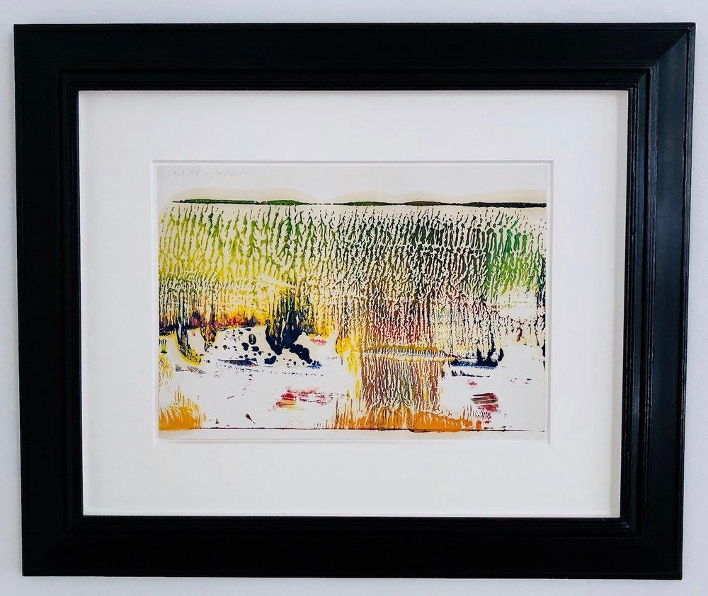 Gerhard Richter 28.1.1994 oil on paper 29,5 x 42 cm | 11 2/3 x 16 1/2 in GR/P 16