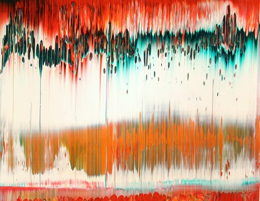 Gerhard Richter, Fuji, 1996 (sold)©Gerhard Richter