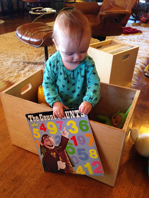 record crate or toy box?