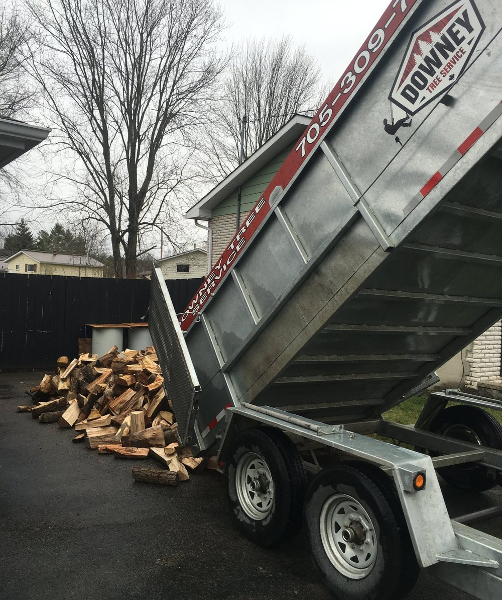 14' Galvanized Dump Trailer