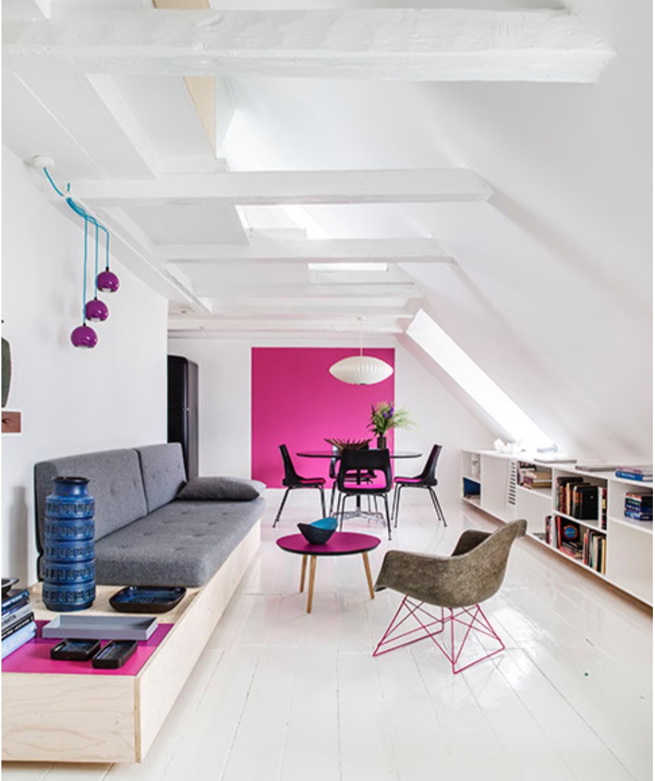 Projekt Toldbodgade - #drømmehjem - Taglejlighed indrettet i tidligere tørreloft