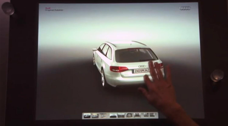 Audi Car Configurator On Surface SapientRazorfish Emerging - Audi car configurator