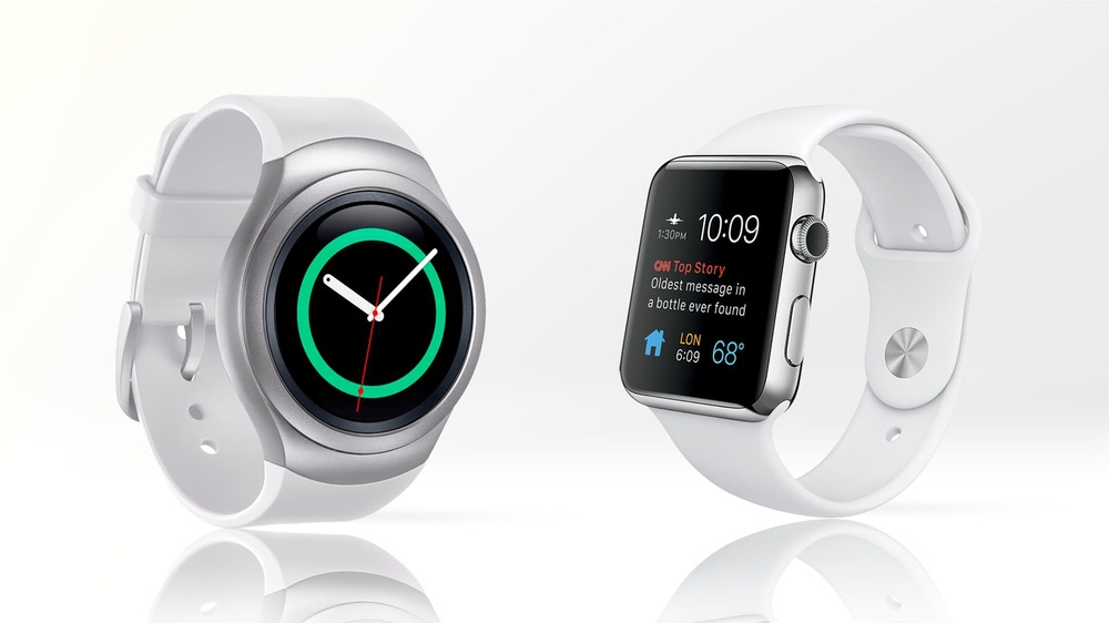 Samsung Galaxy S2 and Apple Watch