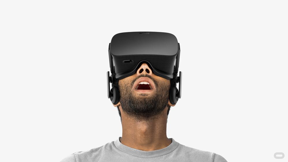 Oculus Rift VR headset (source:Oculus)