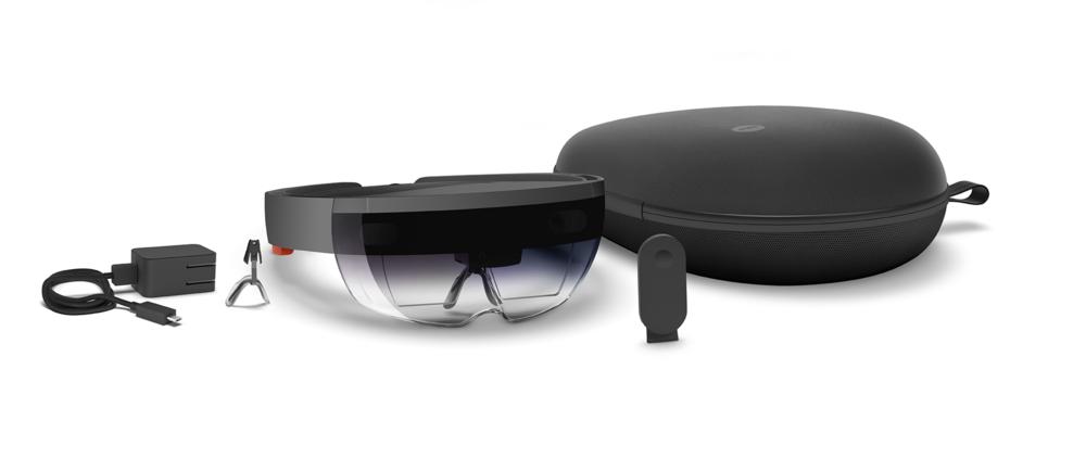Microsoft HoloLens, Image by Microsoft