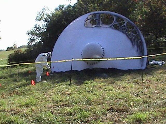 UFO Landing at Seton Hill