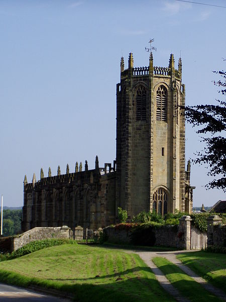 St Michael's Church, Coxwold. Image by AdamFunk  CC BY-SA 3.0