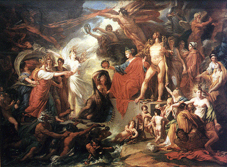 The Triumph of Civilisation by  Jacques Réattu .