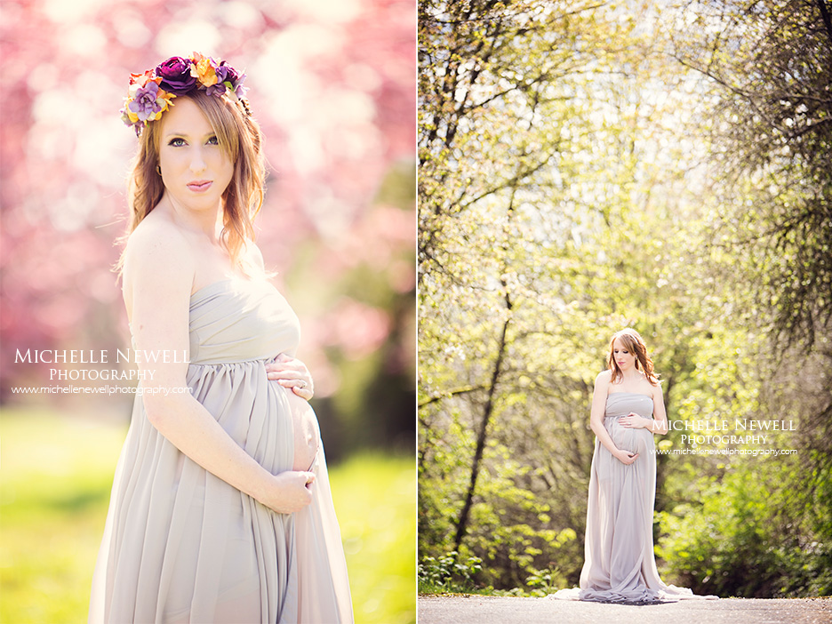 Pacific Northwest Maternity Portraits