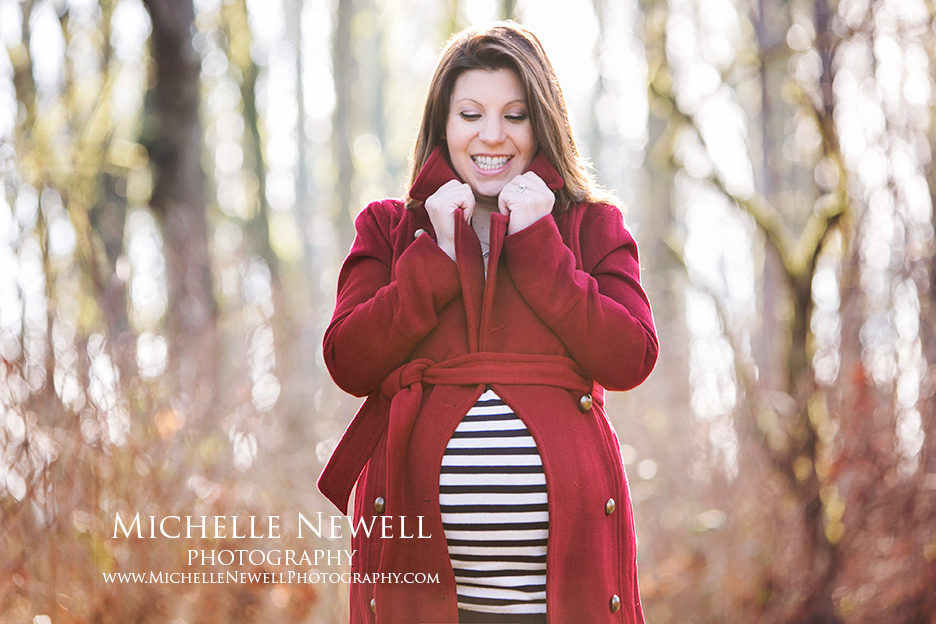 Woodinville Winter Maternity Photography