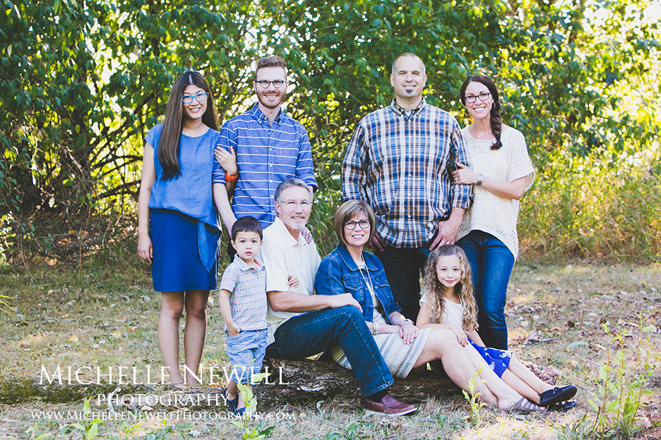 Family Portrait Photographer servicing Redmond, Bellevue, Duvall and the Greater Eastside