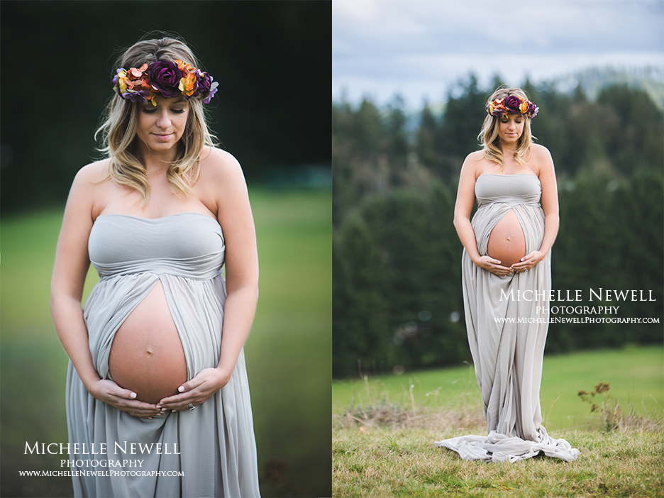 Seattle Outdoor Maternity Photographer