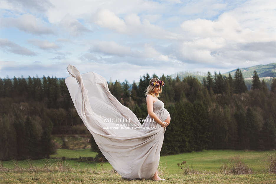Seattle Outdoor Maternity Photography