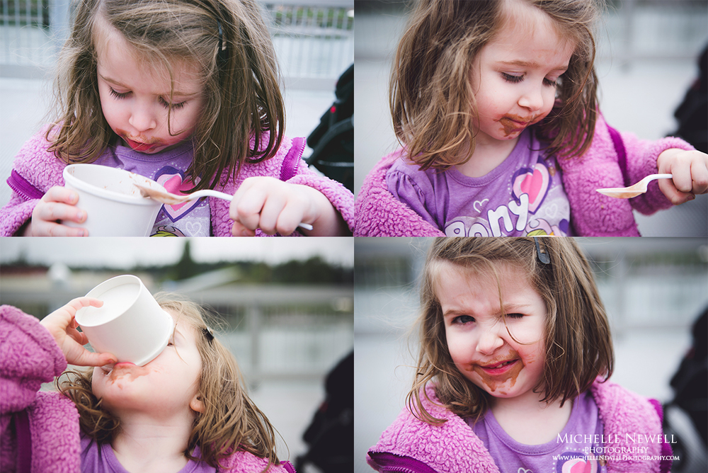 The Art of Ice Cream Eating