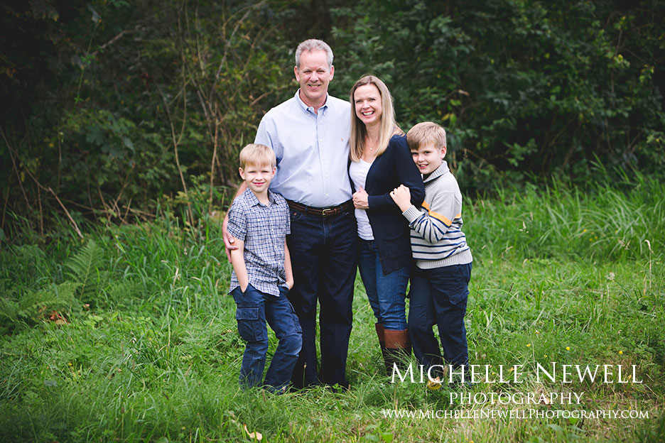 Family Portrait Photography by Michelle Newell