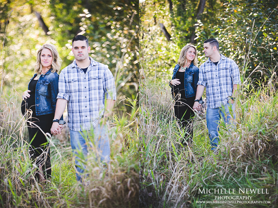 Family Maternity Session by Michelle Newell Photography