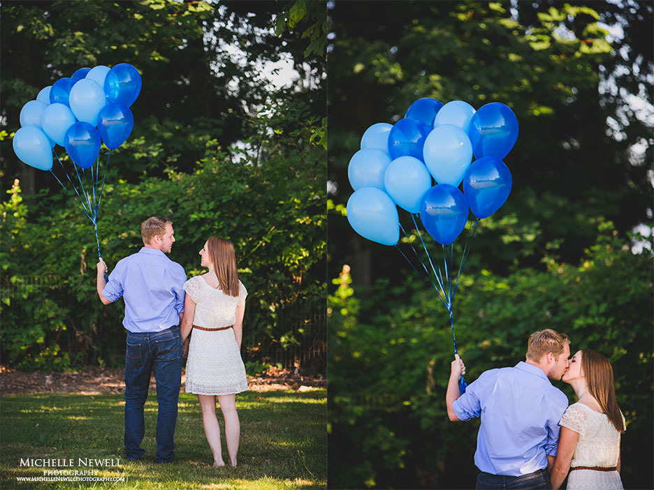 Gender Reveal Session by Michelle Newell Photography