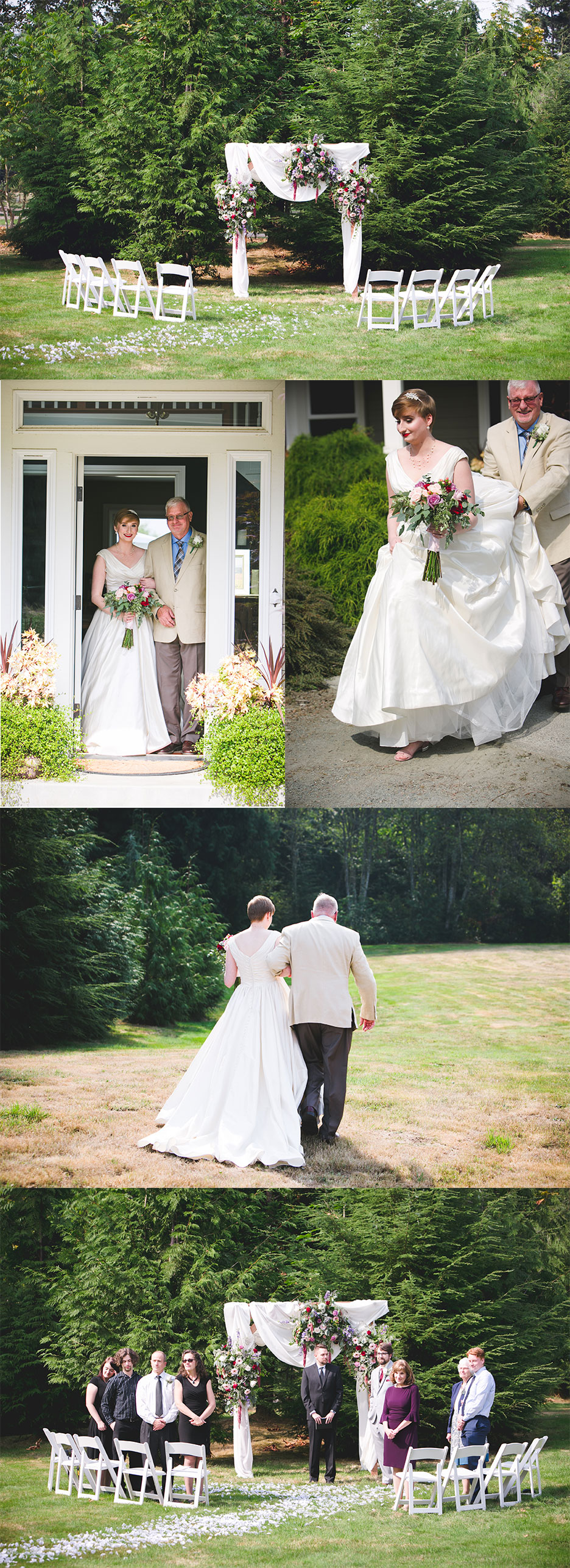 Snohomish WA Wedding Photography by Michelle Newell