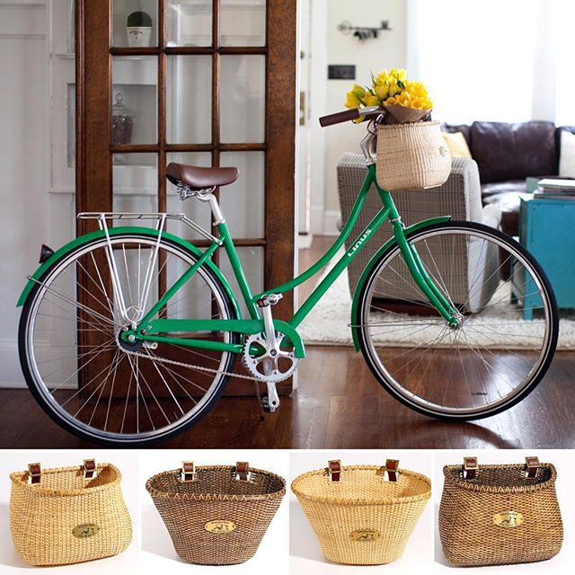 ALERT! 🚨 The Lightship baskets are now in! All shapes & colors are available 🙌🏼 // #nantucketbikebaskets #bikebasket #bike #bicycle #lightshipbasket #basket #nantucket