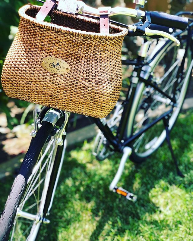 The Lightship Classic: a customer favorite since 2009 💙 // #Repost @abelle913 // #nantucketbikebaskets #bikebasket #bike #bicycle #basket #nantucket #lightship