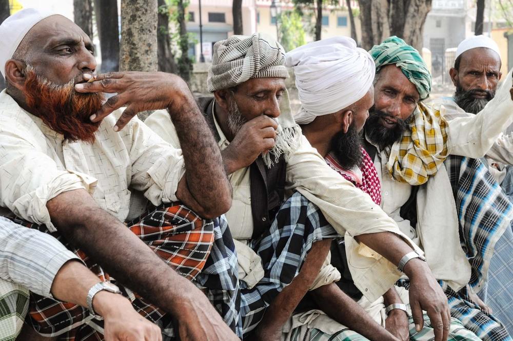 """Protesting"" at Forest Department headquarters, Dehradun"