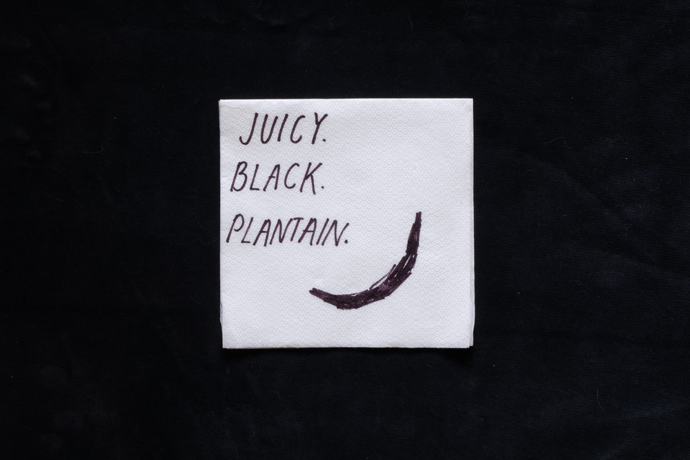 'Juicy Black Plantain'