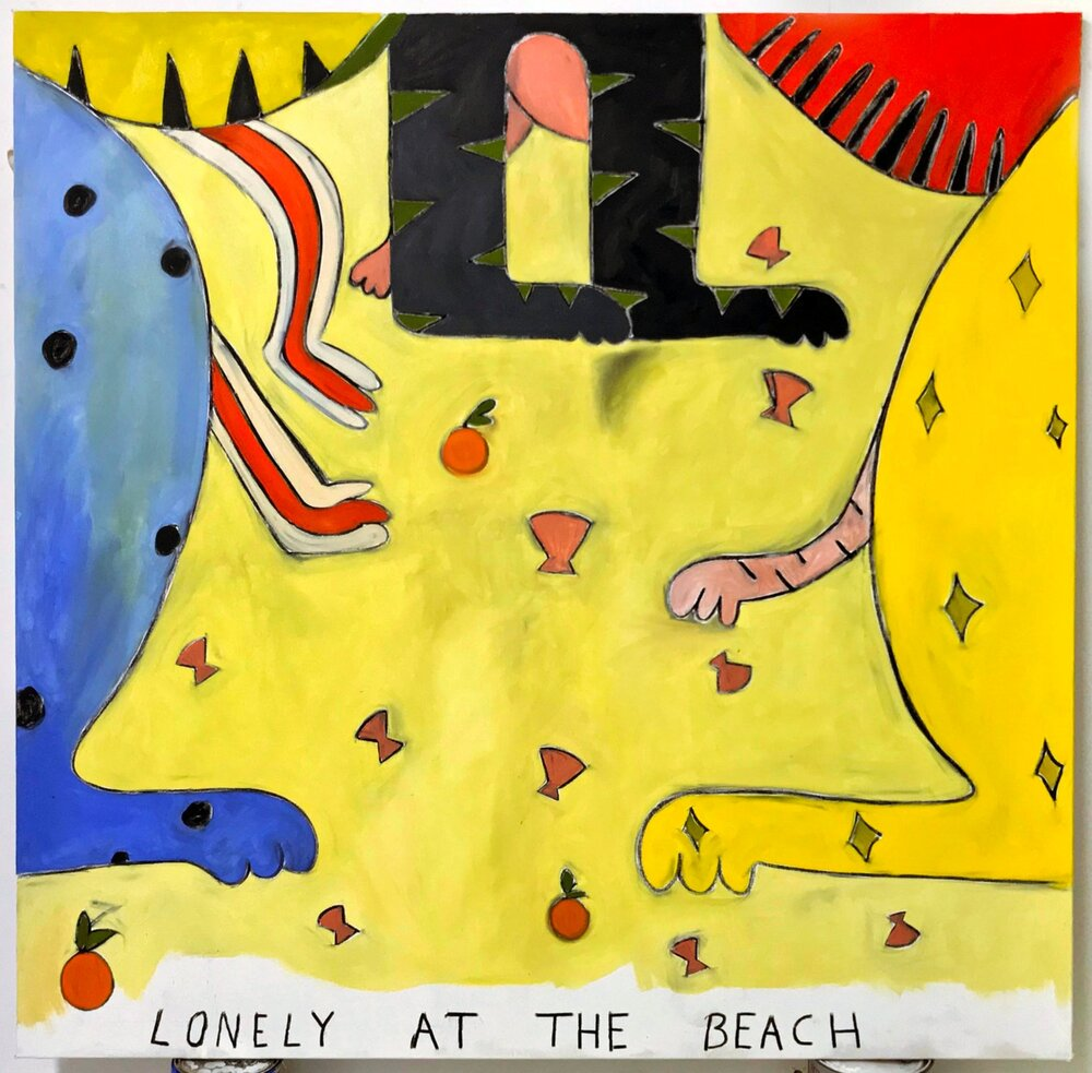 """Lonely at the Beach"""