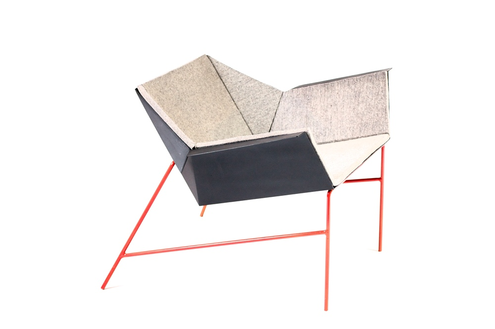Red Shank lounge chair