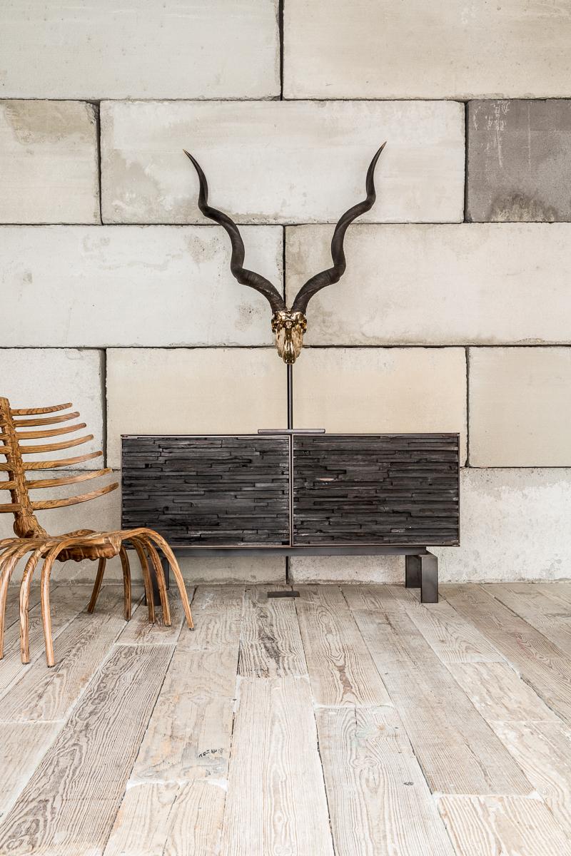 Charred Wood Cabinet