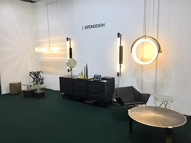 Day two @addesignshow come see me in booth M811 . I will be here through Sunday.
