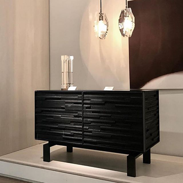 """Excited to announce that you can now find my work @south_hill_home in Toronto. Shown is a 48"""" charred wood cabinet. @jlistondesign"""
